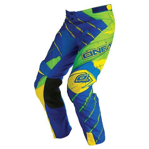 motocross boot straps o 180 neal revolt motocross blue green oneal