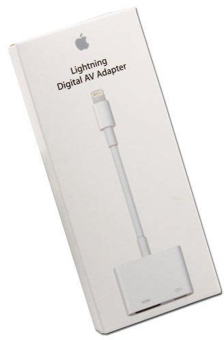 iphone to hdmi lightning digital av hdmi adapter cable apple air mini iphone 5c 5s ipod souq uae
