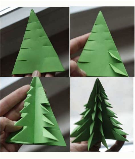 Folding Paper Trees - origami tree 3d paper origami guide