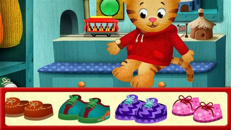 daniel tiger bed daniel tiger s day night on the app store on itunes