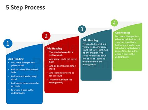 process layout ppt 5 step process powerpoint presentation