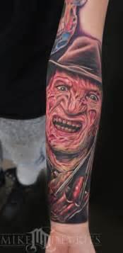 freddy krueger tattoo mike devries tattoos freddy krueger