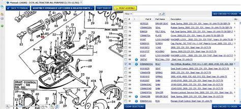ford 4600 tractor parts diagram ford 4600 hydraulic leak yesterday s tractors