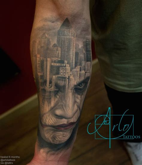 joker gotham tattoo video 17 best images about arlo dicristina tattoos on