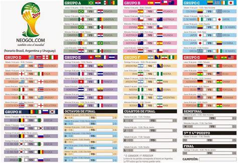 Calendario Colombia Eliminatorias Rusia 2018 Pdf Almanaque Mundial Brasil 2014 Todo El Calendario