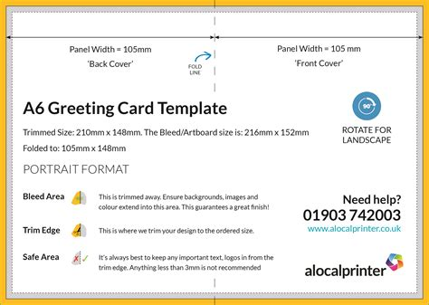 a5 greeting card template indesign product templates