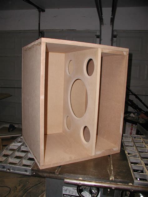 diy sealed 15 quot soundsplinter rl p15 subwoofer home