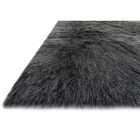 imitation rugs luxurious two toned faux fur rug shades of light