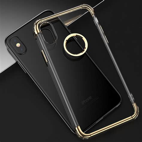 Ultrathin Softcase Iph 7 55 Pink plating ultra thin clear transparent soft tpu cover for iphone x alex nld
