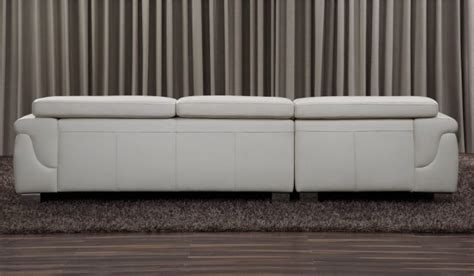 Strata Corner Sofa by Strata Leather Corner Sofa With Adjustable Headrest Multi Position Top Grain Leather By Delux Deco