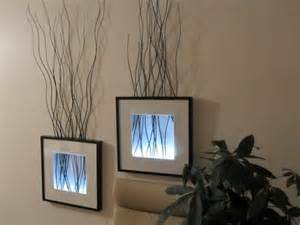 Original wall decorations made of ikea ribba frames shelterness