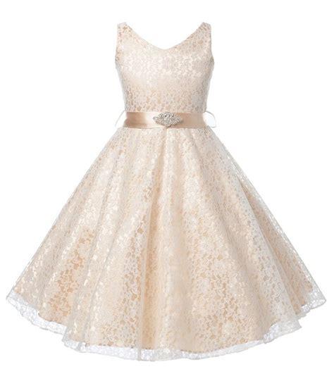 wear dress 2015 flower lace children