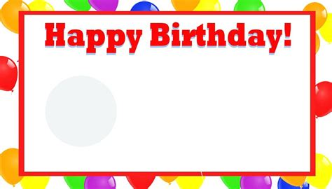 happy birthday banner card template happy birthday free printable free printable happy