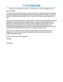 best professional security officer cover letter exles