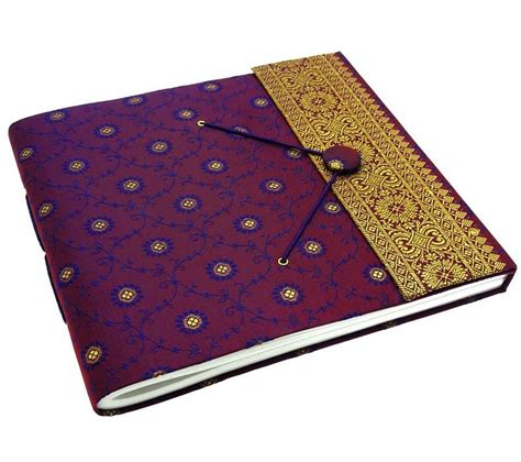 Handmade Paper Photo Albums - handmade large sari photo album by paper high