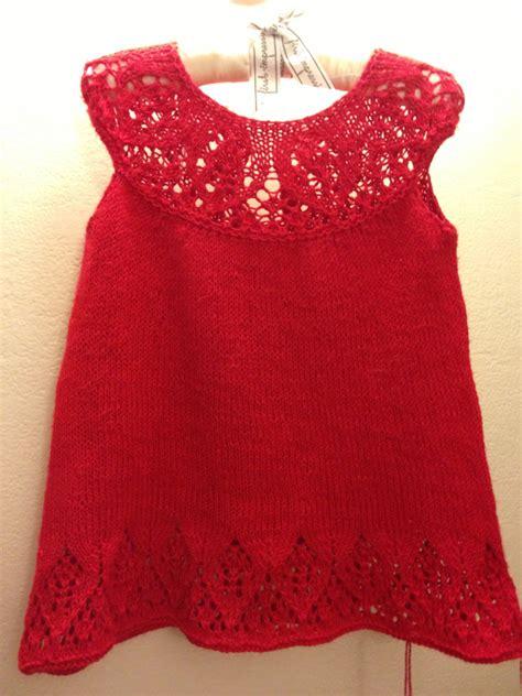 vestidos para bebes de tejido fashion beb 233 s 187 vestidos rojos tejidos para bebes 2