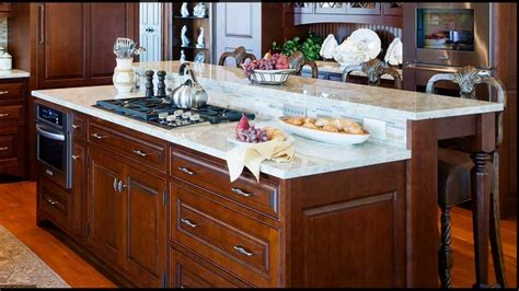 Kitchen Island Cooktop by Center Island Cooktop Kitchen Designs