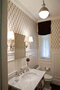 small bathroom wallpaper ideas chic lighting david hicks pendant