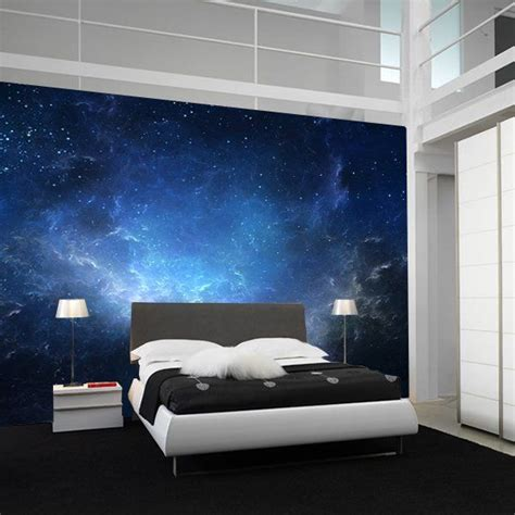 fancy night sky nebula wall mural bedroom ceiling bedroom ideas pinterest wall murals
