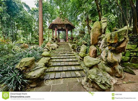 Du Fu Thatched Cottage by Du Fu Thatched Cottage Chengdu Sichuan China Stock Photo