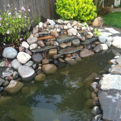 diy backyard waterfall backyard waterfall ponds and water gardens pinterest