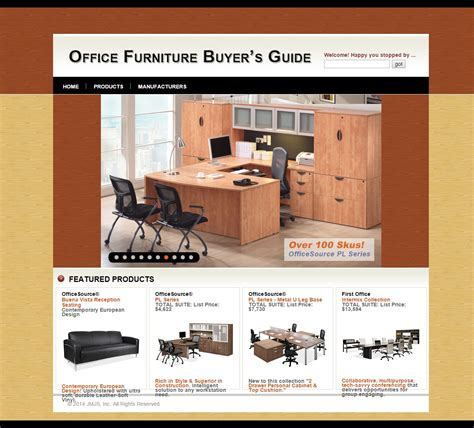 office furniture list