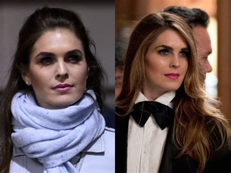 hope hicks vs sarah sanders trump is right hope hicks is a pot piece of tail