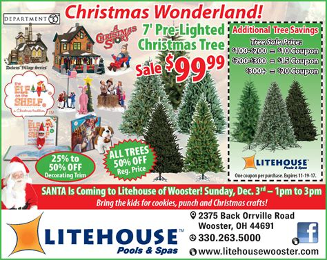litehouse pools christmas trees promotions pools spas litehouse pools spas