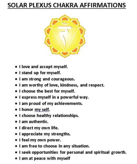 solar plexus location solar plexus affirmations reiki pinterest natural