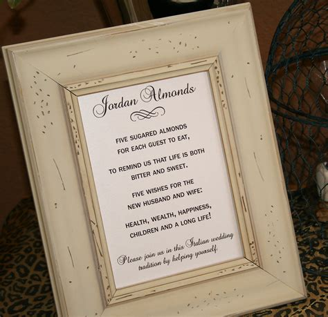 wedding wishes in italian five wishes poem almonds italian confetti by recipebox