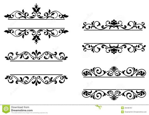 header vintage design obituary borders clipart clipart suggest