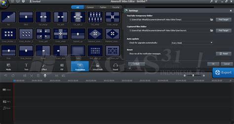 bagas31 edit video bagas31 download software gratis aimersoft video editor