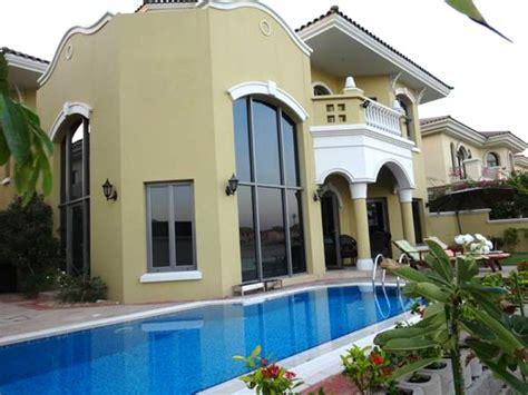 4 bedroom villa for rent in dubai 4 bedroom jumeirah palm villa for vacation rental in dubai