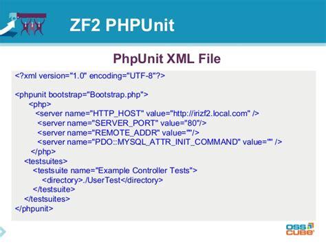 zf2 directory layout zend framework 2 phpunit