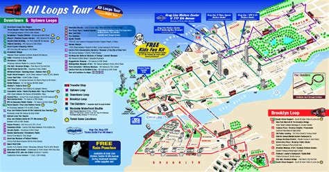 map nyc attractions maps update 30001102 tourist map of new york city map