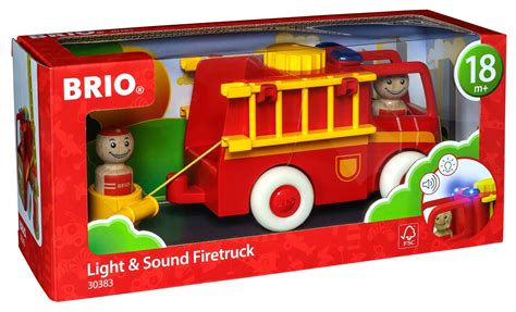 brio light and sound engine brio my home town light and sound truck 30383