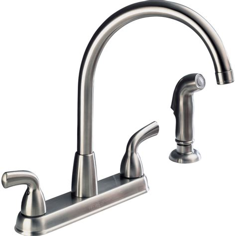 delta single handle kitchen faucet parts delta single handle kitchen faucet removal size of