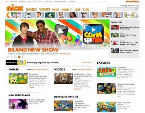 Homepage Web Design Inspiration by Amazing And Creative Kids Website Design Inspiration Artatm