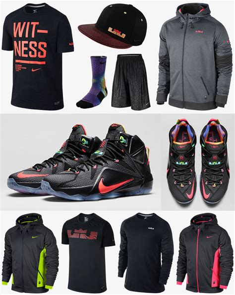 shoes and clothes for nike lebron 12 data clothing shirts and shorts sportfits