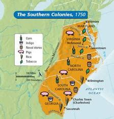 13coloniesproject southern colonies