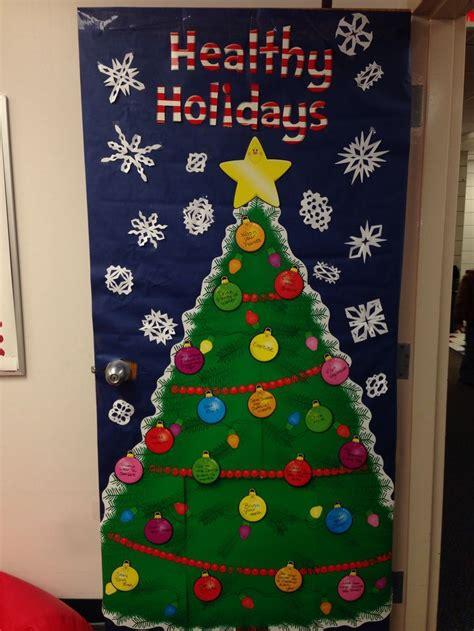 school nurse christmas door decoration festival collections