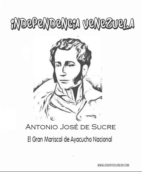 quot jos 233 antonio el hombre que todos imagenes para colorear antonio jose de sucre biografas de venezuela venezuela tuya caratulas