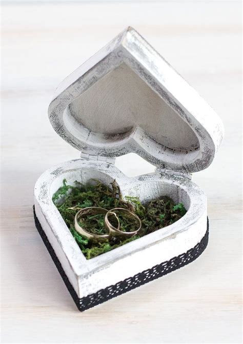 Hochzeit Ringe Kaufen by Wedding Ring Box Ring Bearer Box Custom Wedding Box Rustic