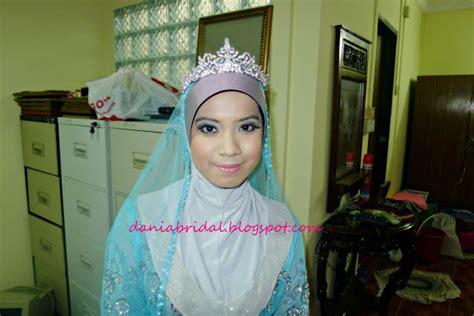 Makeup Makeover Lengkap butik pengantin dania pakej tunang lengkap murah