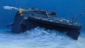 fotos reales del titanic bajo el agua nueva expedicion filmar restos del titanic 2012
