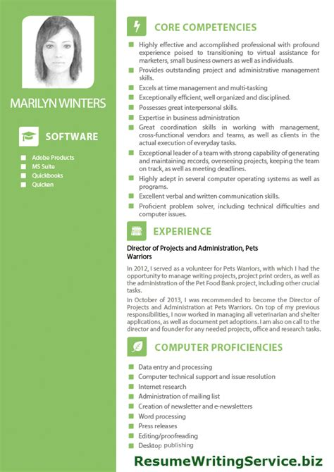 Sample Resume Format For Administrative Assistant by Fabulous Sample Of Internet Marketing Virtual Assistant