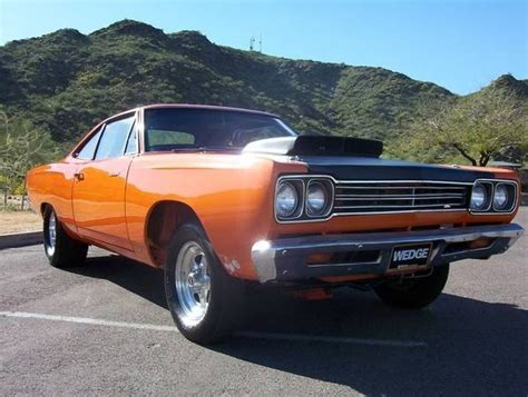 Orange 1969 Plymouth Road Runner For Sale   MCG Marketplace