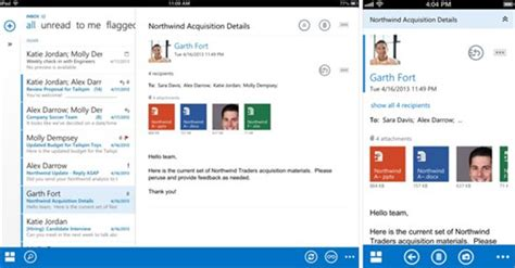 change layout email ipad microsoft ver 246 ffentlicht native outlook web app clients