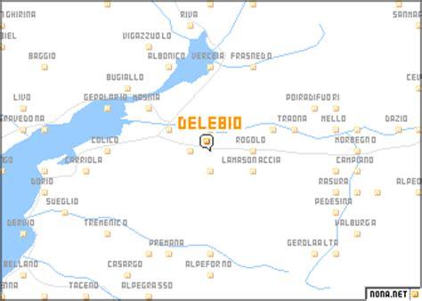 delebio (italy) map nona.net