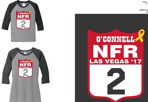 back number ceremony nfr 2018 tim o connell 2017 nfr shirts supporting ayden wright